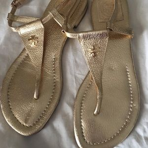 Shoes - Tory Burch sandals gold